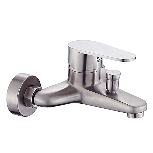 304 Stainless Steel Bathroom Shower Tub Faucet Wall-Mounted
