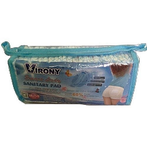 Smart Lady Sanitary Pad (60 Count) X2