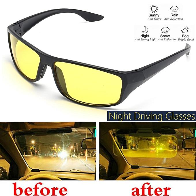 c4de7880a6 Night Driving Glasses Anti Glare Vision Driver Safety Sunglasses Goggles