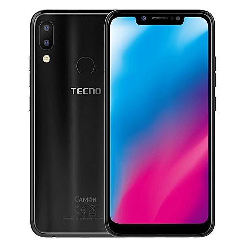 Camon 11 (CF7) 6.2-Inch Super FULLVIEW (3GB, 32GB ROM) Android 8.1 Oreo, (13MP + 2MP) + 16MP Dual SIM 4G LTE Face ID Smartphone - Midnight Black