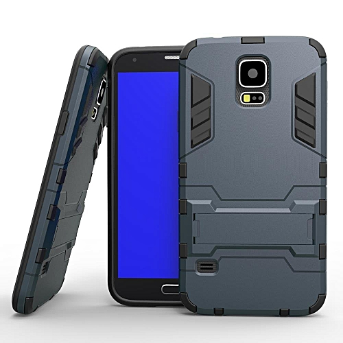 sports shoes 75116 4a1c3 For Samsung Galaxy S5 I9600 Case Shockproof Robot Armor Case Hybrid Rugged  Silicon Rubber Hard Back Phone Cover For Samsung S5