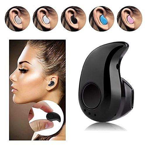 Bluetooth Earbud, S530 Mini Wireless Earphone In Ear Small Headset With Mic Hands-free Noise Canceling(Black)