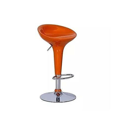 Classic Bar Stool - Orange