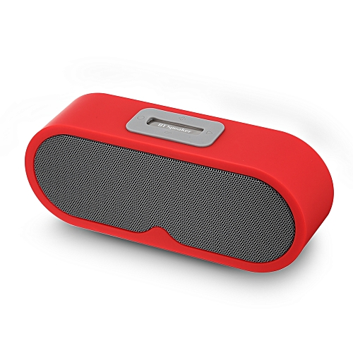 F1 - D Bluetooth Speaker Portable Wireless Player Dual Driver-RED