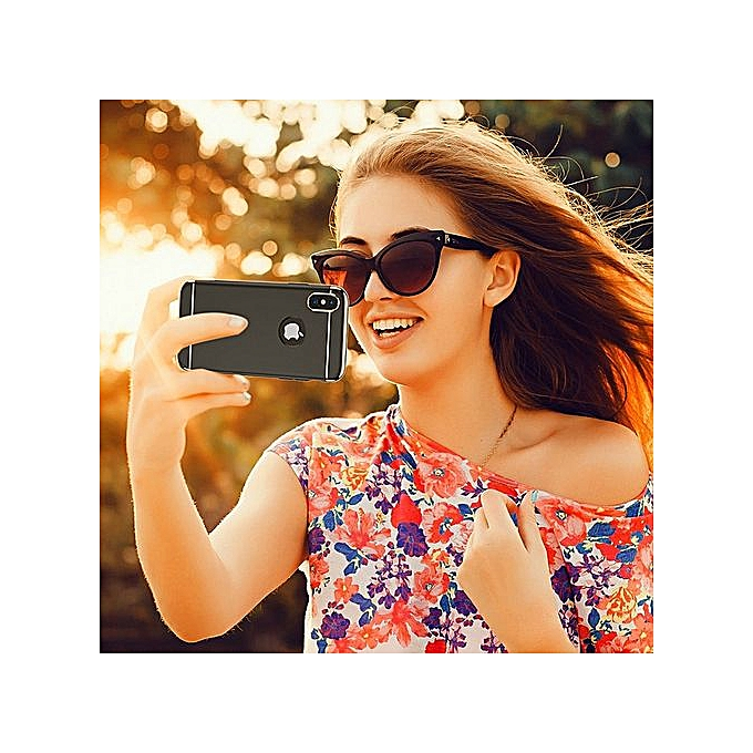 b33a553e3037 ... IPhone X Case, IPhone 10 Case, Thin And Slim Hard 3 In 1 Stylish ...