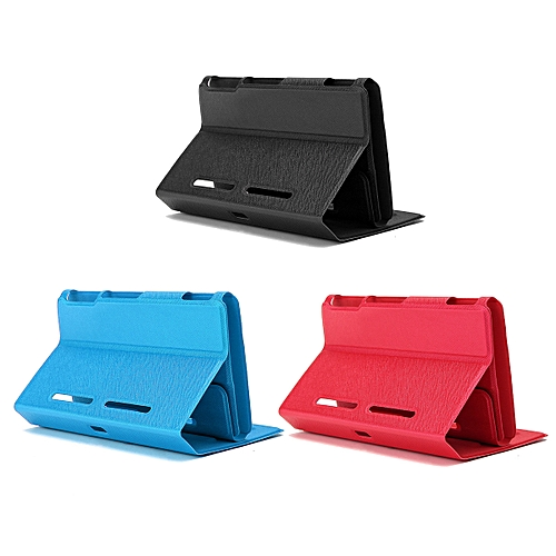 Black Magnetic Leather Flip Stand Case Protect Cover For Nintendo Switch Console