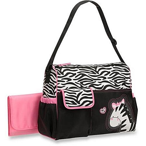 Baby Boom Zebra Diaper Bag - Multicolour  add3fc88c36fa