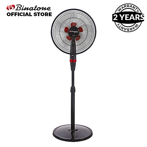 A-1693 16 Inches Binatone Standing Fan - Black