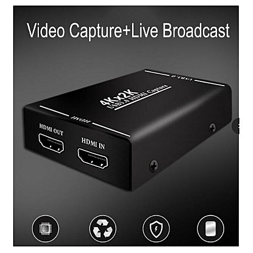 EarRise Ezcap261M USB 3.0 HD Video Game Capture 4K 1080P Game Live Streaming Video Converter Support 4K Video For XBOX One PS3 4