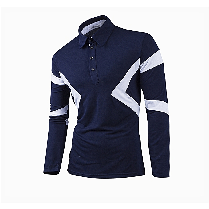 dbcf54fbe1 Super Large Size Long Sleeve Polo New Classic Mens Polo Shirts Long Sleeve  Spring Men s Shirt