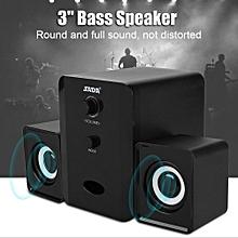 SADA Bluetooth Speaker USB Powered 5V 2.1 Stereo Bass Speaker For IPad/PSP/Tablet