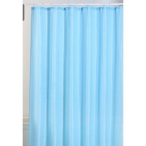 Bath Shower Curtain With Hooks.ANY RANDOM COLOUR