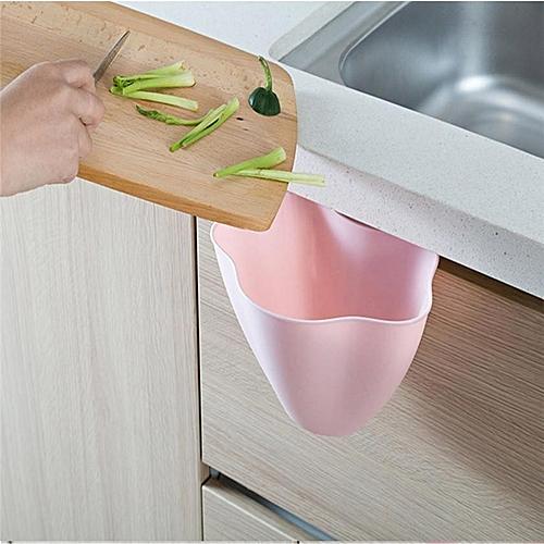 Kitchen Cabinets, Door Hanging Trash Cans, Home Creative Plastic Storage Bins, Bedroom Mini Trash Basket