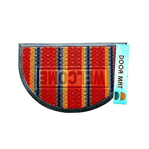 Half Moon Door Mat Red-Multicolour(2 Offers From #2,200)