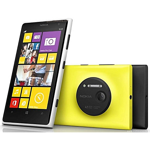 Refurbished Smartphones Nokia Lumia 1020 Windows 32GB Camera 41MP GPS Wifi 4.5 Inch Screen 32G
