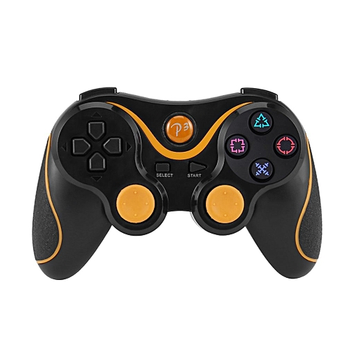 Bluetooth Wireless Joystick Pad Game Console Controller For Playstation PS3-Orange