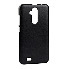 OCUBE Litchi Texture PC Protective Back Case For Oukitel C12 / C12 Pro(Black)