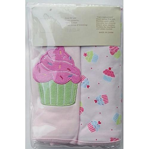 carter's 2 PK Baby Blanket - Pink