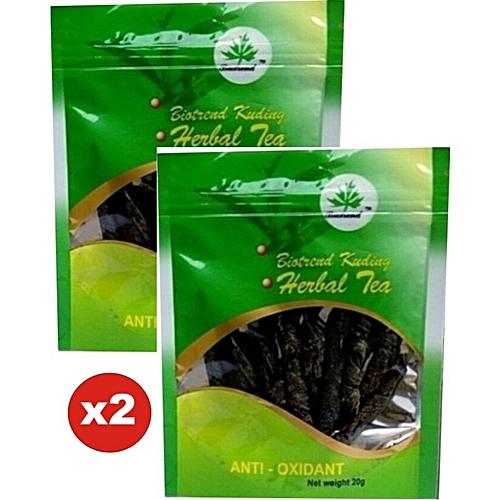 Kuding Herbal Tea 2pcs X 20g