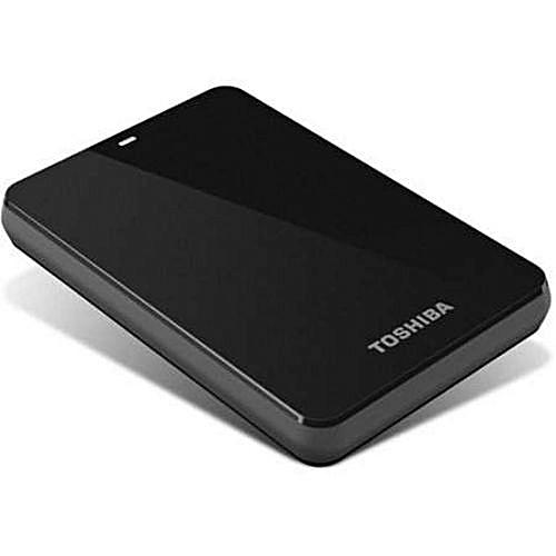 1TB Canvio Basics Portable HDD - Black