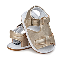 5589d51ed66f Baby Boys Sandals Shoe Casual Shoes Sneaker Anti-slip Soft Sole Toddler -  Gold