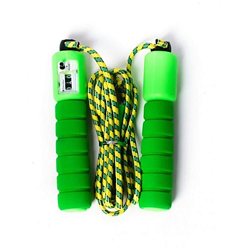 Skipping Rope With Counter - (various Colours, Combinations And Designs)