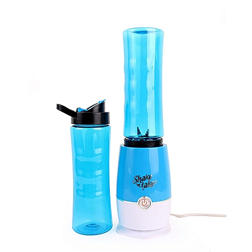 Smoothie Maker Blender + Extra Bottle - Blue