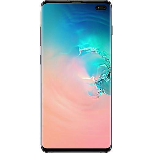 Galaxy S10 Plus (S10+) 6 4-Inch (8GB, 128GB ROM) Android 9 0 Pie, 12MP +  12MP + 16MP Dual SIM 4G - Prism White