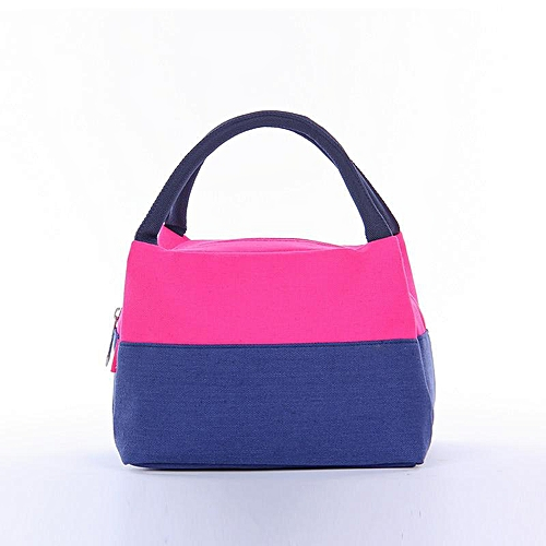 Portable Thermal Insulated Lunch Bag Cooler Lunchbox Storage Bag Lady Carry Picnic Food Tote Insulation