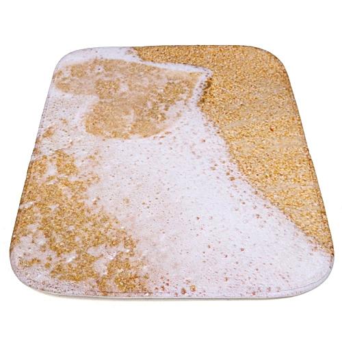 40*60cm Decor Beach Heart Rug Carpet Bedroom Bathroom Living Room Floor Mat