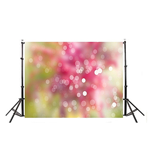 (photo)7x5Ft Vinyl Photo Backdrops Red Blurred Light Photography Background Studio Prop#90*150cm