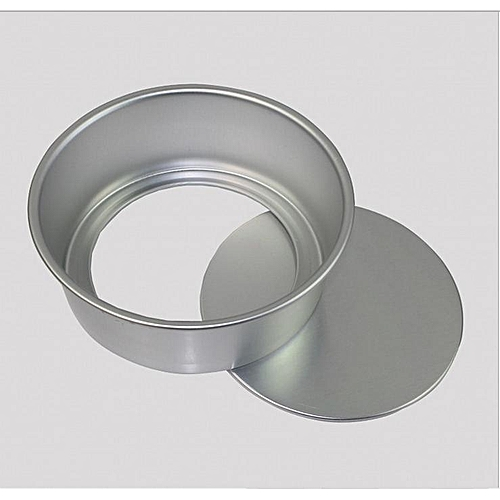 2inch Aluminum Alloy Mini Round Cake Mould Removable Bottom Baking Pan Tool Bakeware