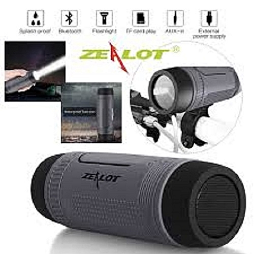 S1 Bluetooth Speaker - Power Bank & Flash Light