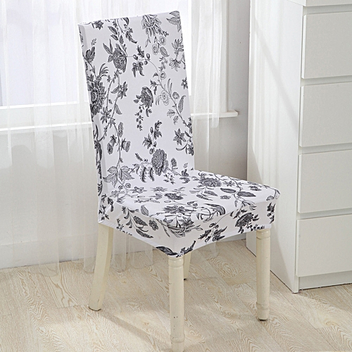Dtrestocy Universal Stretch Spandex Dining Room Wedding Banquet Chair Cover Slip Cover B