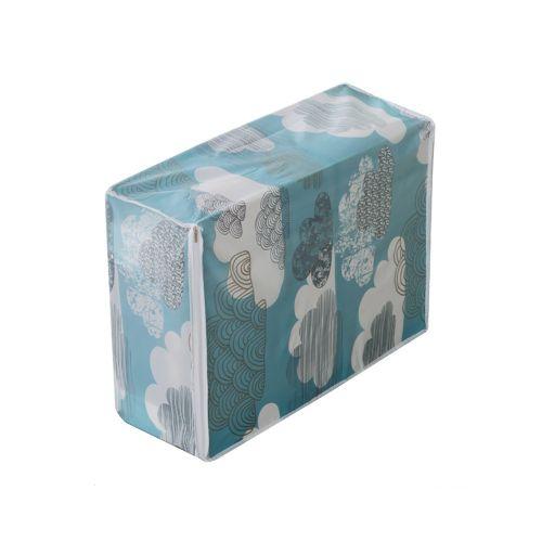 Generic Foldable Storage Bag Clothes Blanket Quilt Closet Sweater Organizer  Box Multi