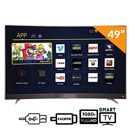 """49"""" FULL HD Curve Smart TV"""