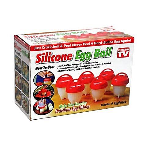 Crack-Boil-Pop Egg Boiler