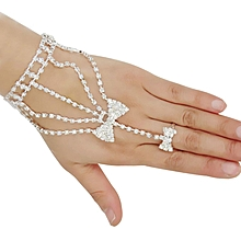 Luxury Wedding Bridal Jewelry Bracelers For Women Silver for sale  Nigeria