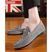 0f9ff67a20201 Fashion Men's Casual Shoes Tide Shoes Loafers Ons Shoes-Grey