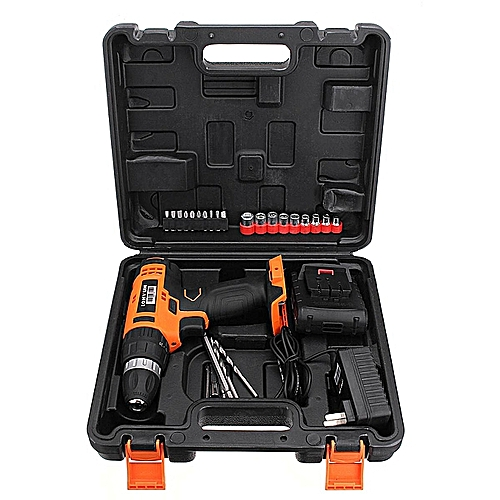20V Lithium Cordless Power Drill Electric Drilling Screwdriver Tool