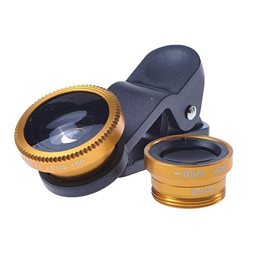 Phone Camera Lenses Fish Eye+0.65X Super Wide Angle Lens
