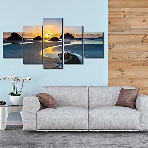 14273 LM Beach Reef Wall Art Prints Canvas Painting Decoration Colorful