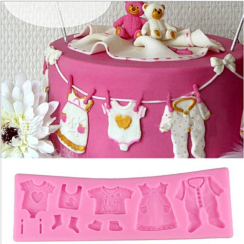 Baking Mold / Baby Shoes Fondant Cake Mold 3D