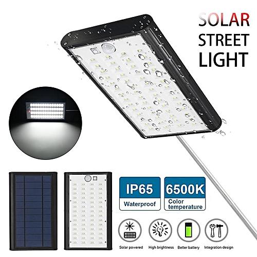 Solar Street Wall Light IP65 Waterproof Motion Sensor USB Charging Garden Light