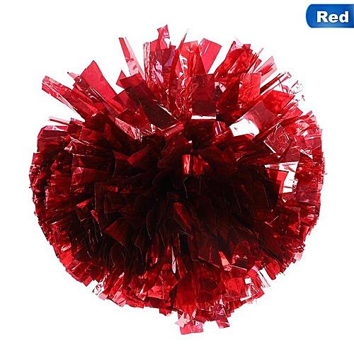Game Cheerleader Cheerleading Pom Poms Cheer Pom Hand Flower Majorettes Aerobics Balls Sports Items