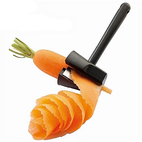 BlueLife 2 In 1 Zester + Grater Carrot Peeler For Fruit & Vegetable