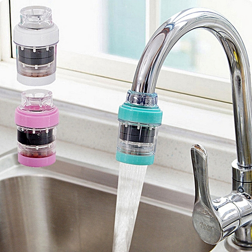 Household Kitchen Tap Water Purifier Filter Blue
