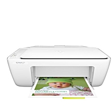 DeskJet 2130 All-in-One Printer - White USB CABLE IS NOT INCLUDED.