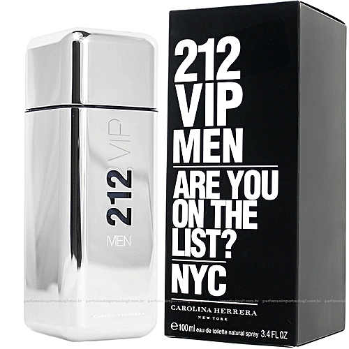 ecc8bf05fd Carolina Herrera 212 VIP (Are You On The List) For Men-100ml