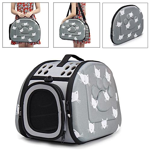 Portable EVS Pet Dog Cat Carrier Travel Bag Shoulder Soft Crate Cage Backpack